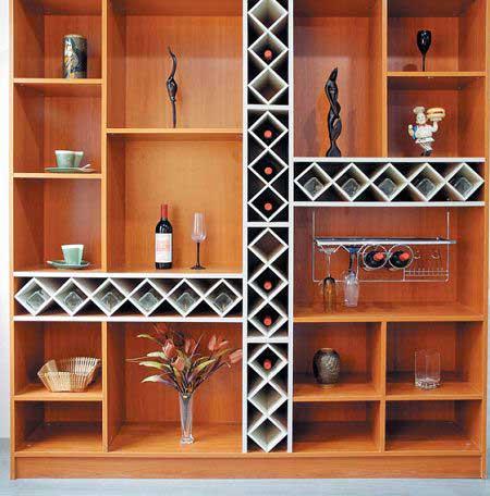 入门鞋柜酒柜设计图 餐厅酒柜和鞋柜–设计本装修效果图
