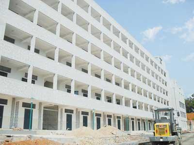 商贸学校走廊设计